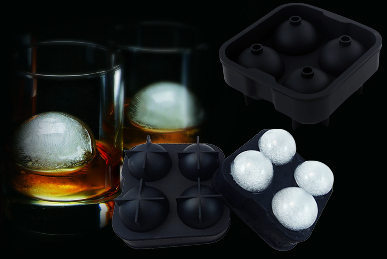 Spherical Silicone Ice Moulds for £2.99