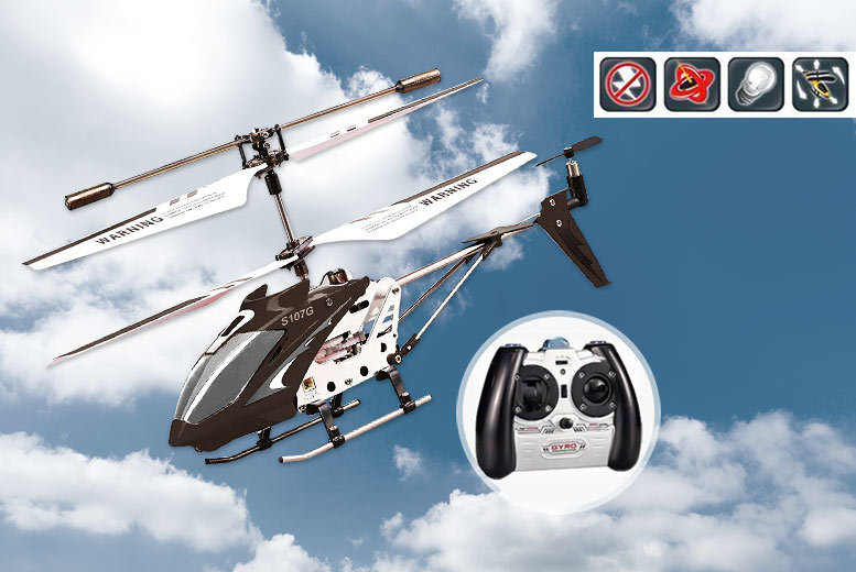Infra-Red Precision Control RC Helicopter – 6 Colours! for £14.99
