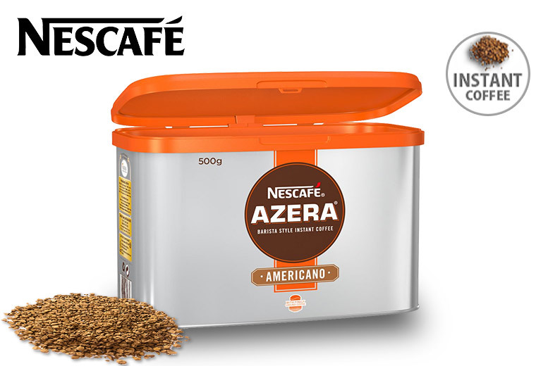 500g Tin of Nescafe Azera Americano Instant Coffee for £19.99