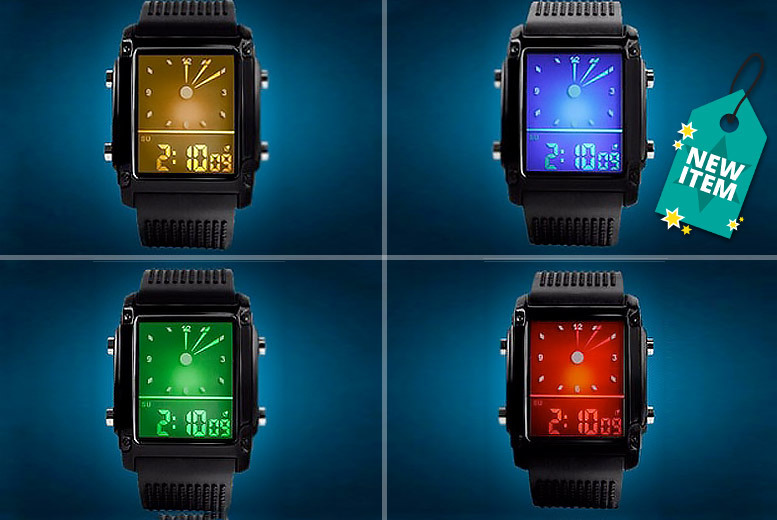 Digital LED Sport Watch