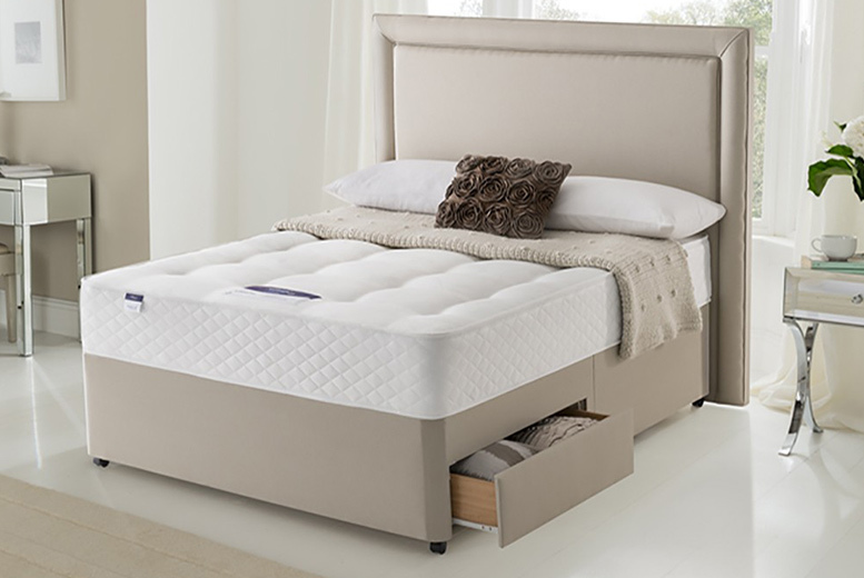 Wowcher deal wowcher 399 instead of 534 for a double for Divan bed and mattress deals