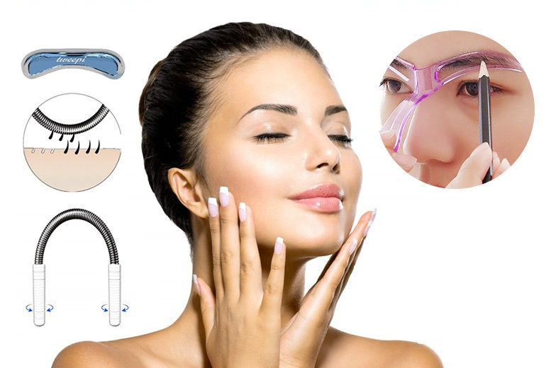 Tweepi Hair Removal Wand & Eyebrow Stencil from £1.99