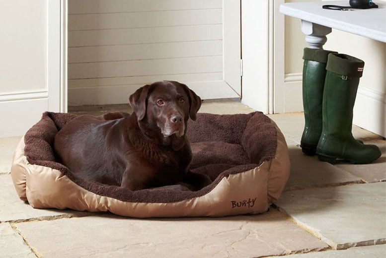 Fleece Dog Bed – 3 Colours & 5 Sizes! for £6