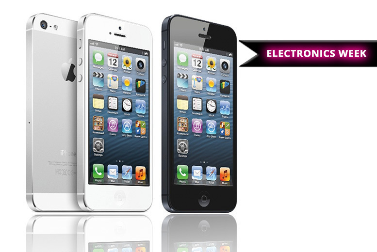16GB or 32GB Apple iPhone 5 – 2 Colours! from £99