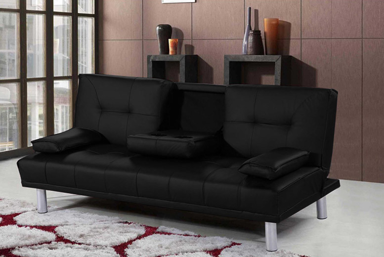 Manhattan Cinema Sofa Bed with Cup Holders for £129