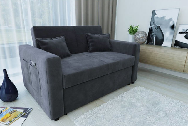Direct Furniture  Ravena 2 Seater Sofa Bed In ...