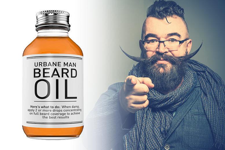 Urbane Man Beard Oil 50ml for £6.99