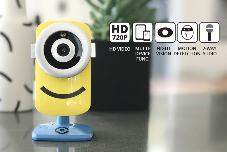 Minions Smart Baby Monitor & IP Security Camera for £59