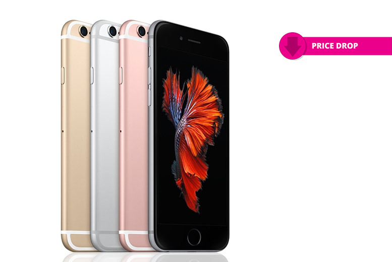 16GB or 64GB iPhone 6s – 4 Colours! from £299