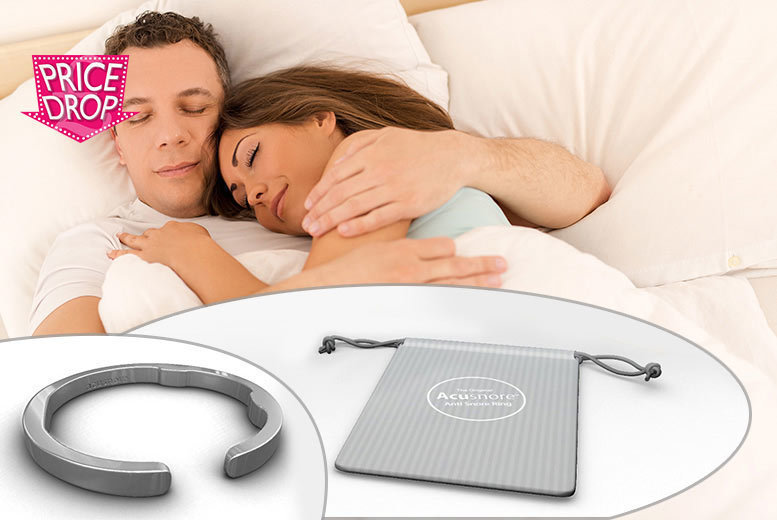 Acusnore 'Anti-Snore' Ring for £4.99