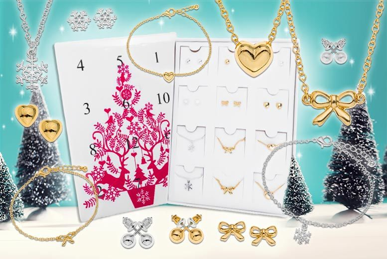 12 Days of Christmas Jewellery Calendar for £14.99