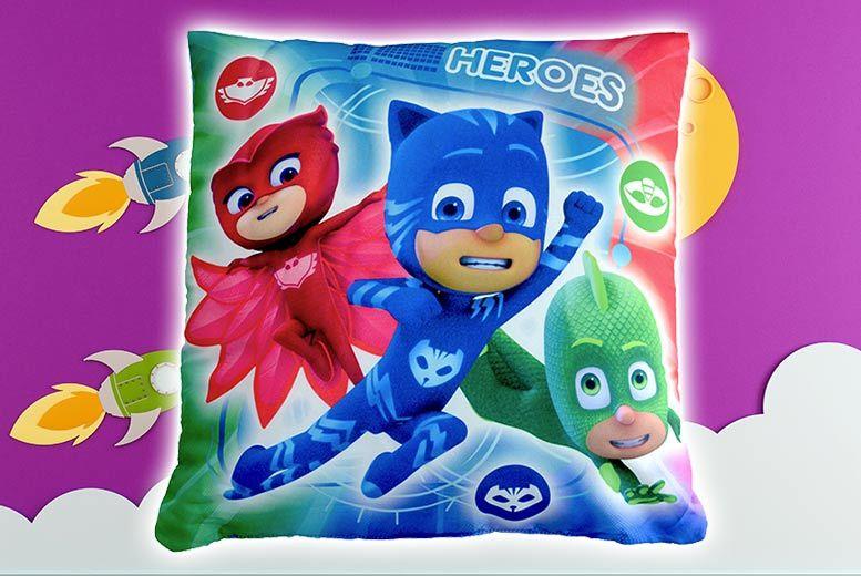 Disney PJ Masks 'Heroes Vs Villains' Cushion