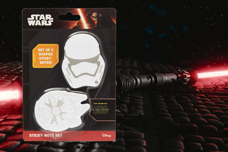 Star Wars Sticky Note Set for £2.99