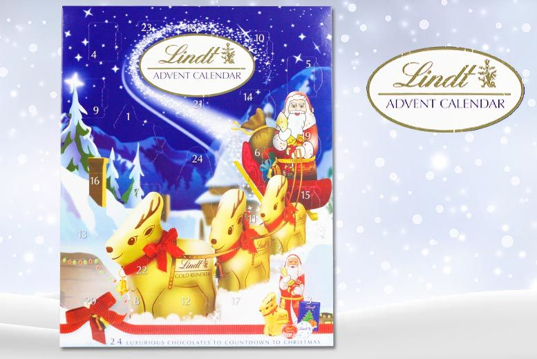 Lindt 'Countdown to Christmas' Advent Calendar for £7.99