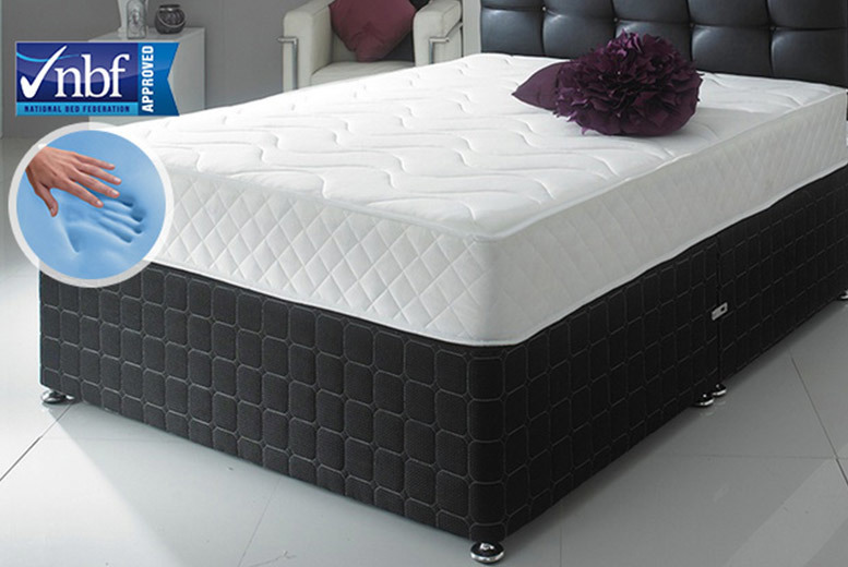 CoolBlue Memory Foam Mattress