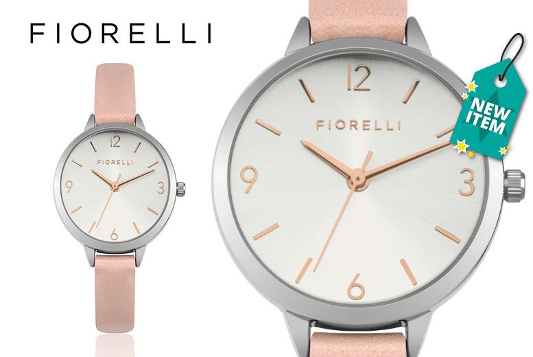 Ladies Pink Fiorelli Watch