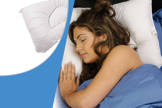 Chiropractic Pyramid Support Pillow Home Deals In