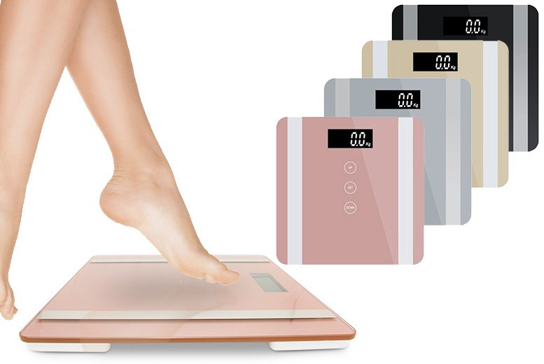 7-in-1 Digital Body Fat Scales – 4 Colours! for £14.99