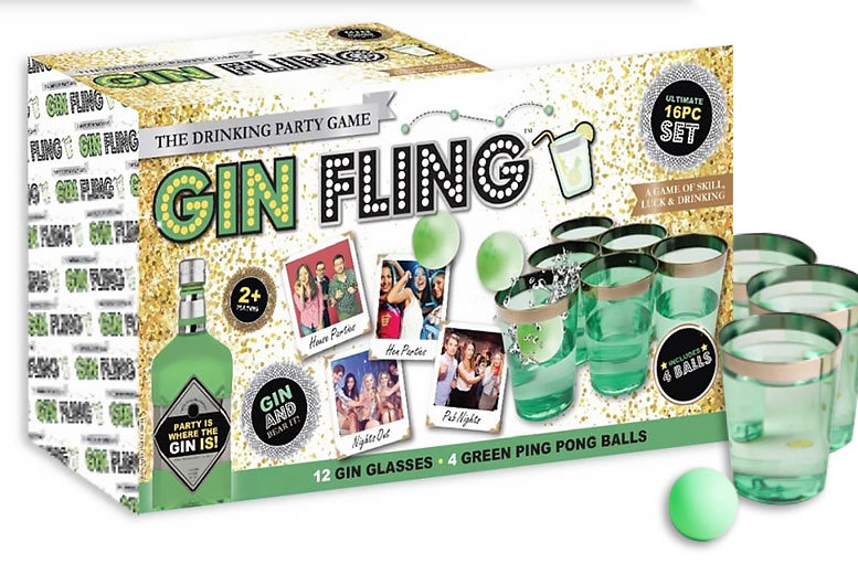 'Gin Fling' Party Game for £9.99