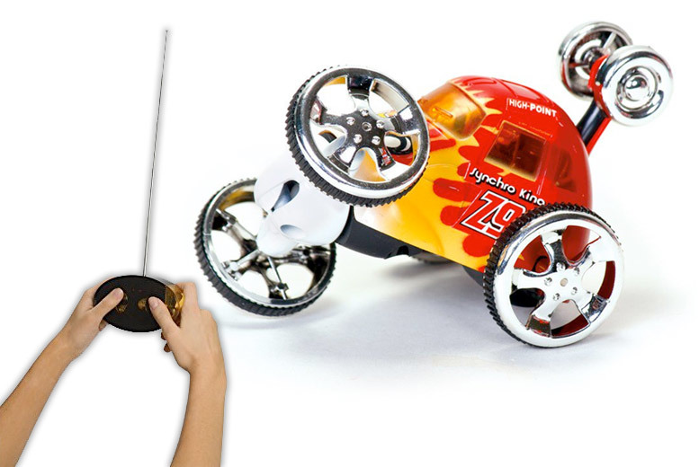 Remote Control Stunt Car for £12