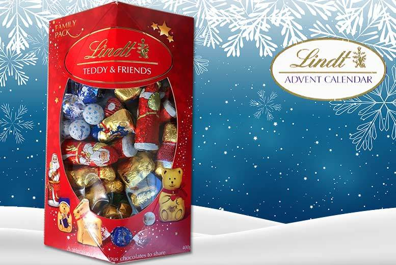 Lindt Teddy & Friends 400g Family Chocolate Pack for £9.99