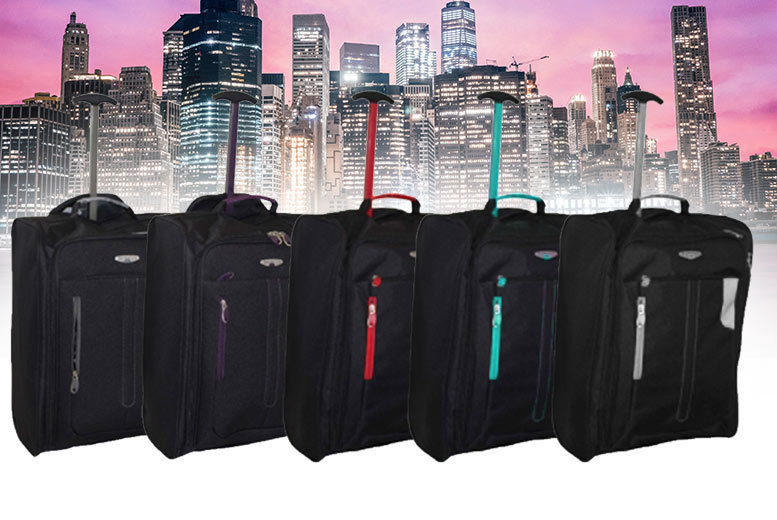 Cabin-Approved Wheelie Hand Luggage for £10
