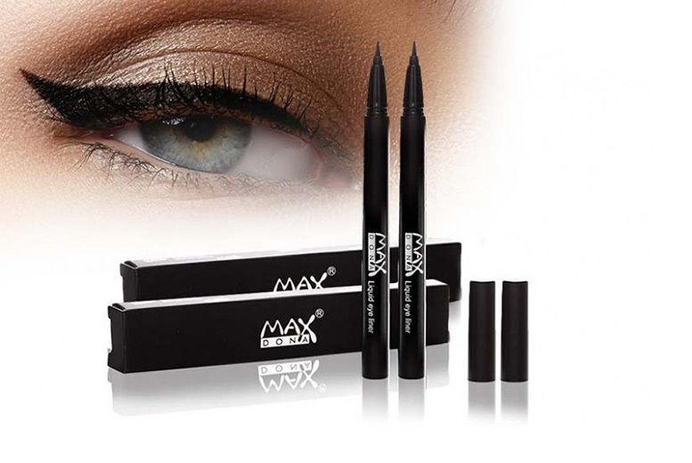 2 Maxdona Black Liquid Eyeliners for £4.99