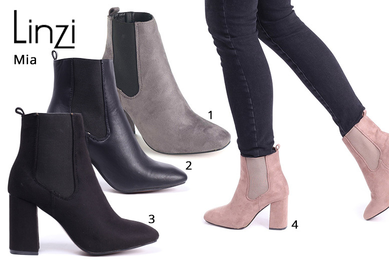 Classic Ankle Boots – 8 Styles & UK Sizes 3-8! for £9.99