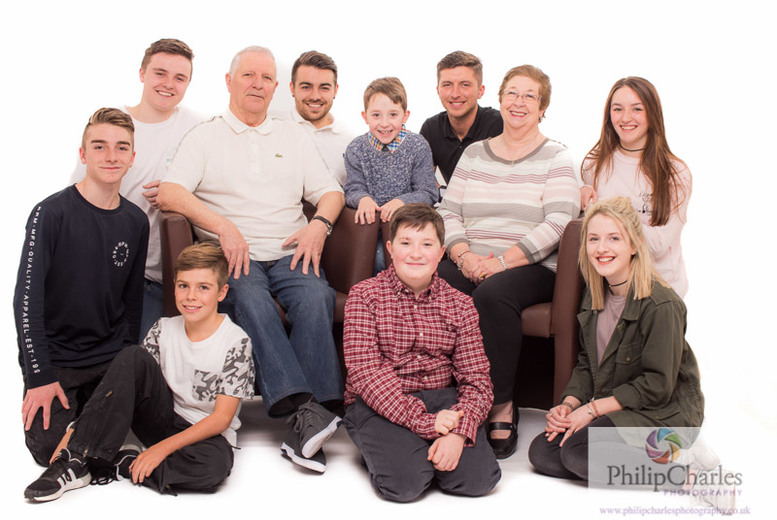 Family Photoshoot & Prints @ Philip Charles Photography, Atherstone