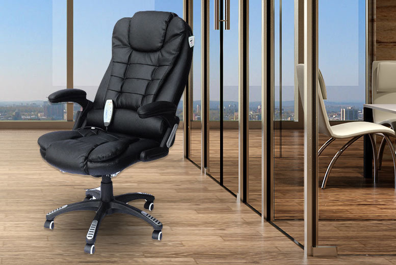Executive Reclining Massage Office Chair For 89 Home