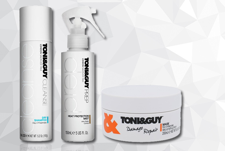 Toni & Guy Prep Collection for £15