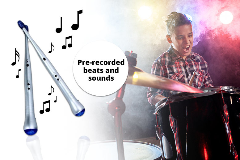 The Best Deal Guide - Electronic LED Light-Up Drumsticks