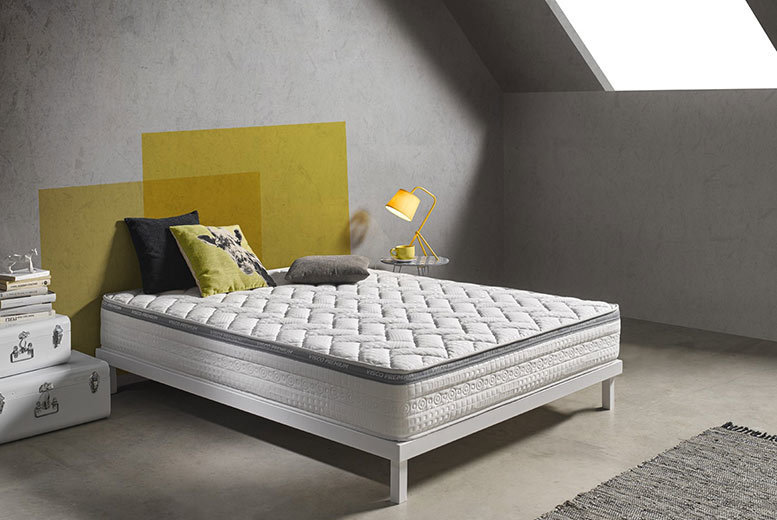 Extra-Deep Silver-Touch 9-Zone Orthopaedic Memory Mattress