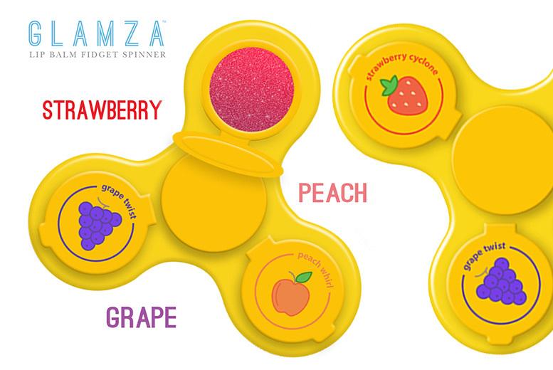 2 Glamza Lip Balm Fidget Spinners for £7.99