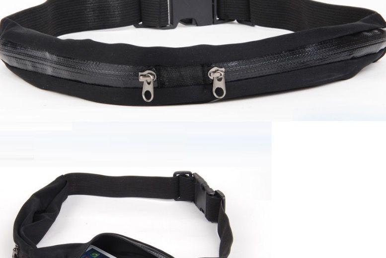 Zip Pocket Smartphone Running Belt from £3.99