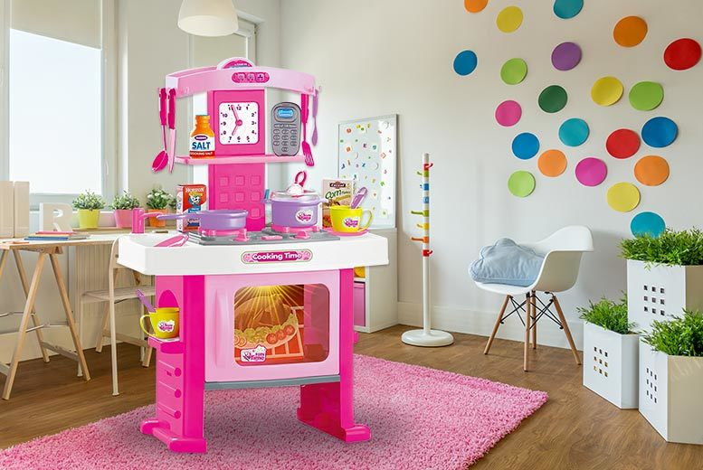 The Best Deal Guide - Kids' Electronic Kitchen Playset - 2 Colours!