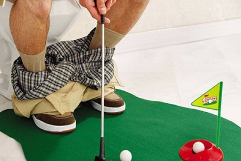 6pc Potty Putter Golf Set for £4.99