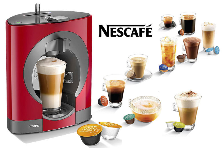 Krups Nescafe Dolce Gusto Coffee Maker – 2 Colours! for £49.99