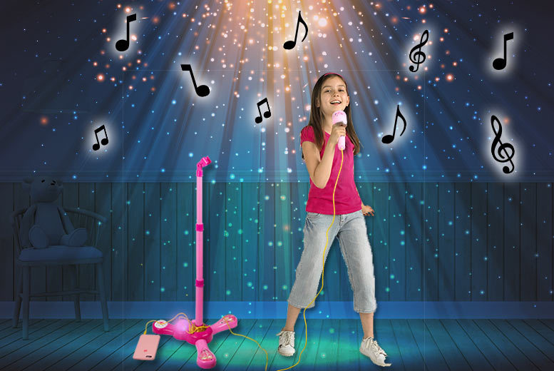 The Best Deal Guide - Kids' Electronic Plug & Play Karaoke Party Microphone