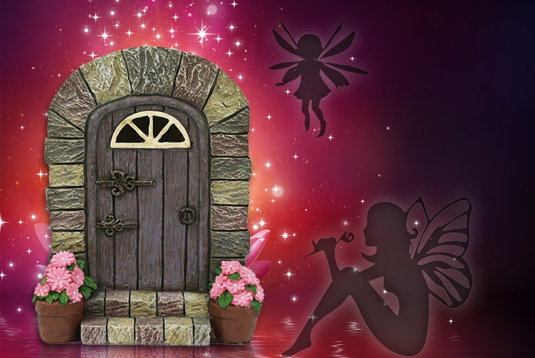 Light-Up LED Magical Fairy Door Decoration for £9.99