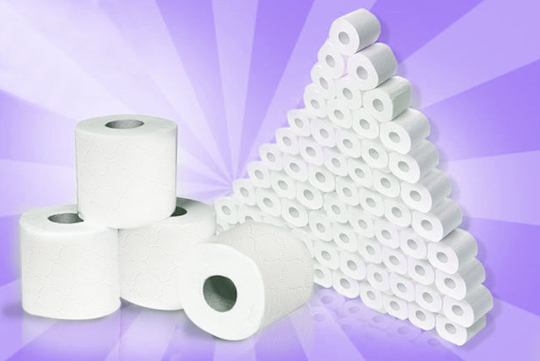 60 Classic White Toilet Rolls for £14.99