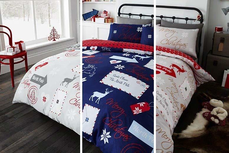 Christmas Themed Duvet Set - 5 Designs!