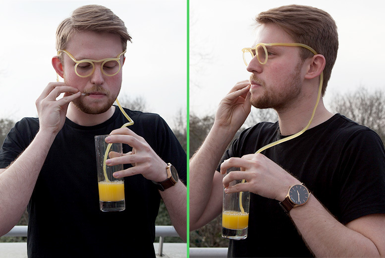 Drinking Straw Glasses for £3.99