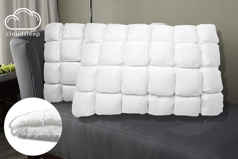 1 or 2 'Cloud Sleep' Floating Pocket Pillows