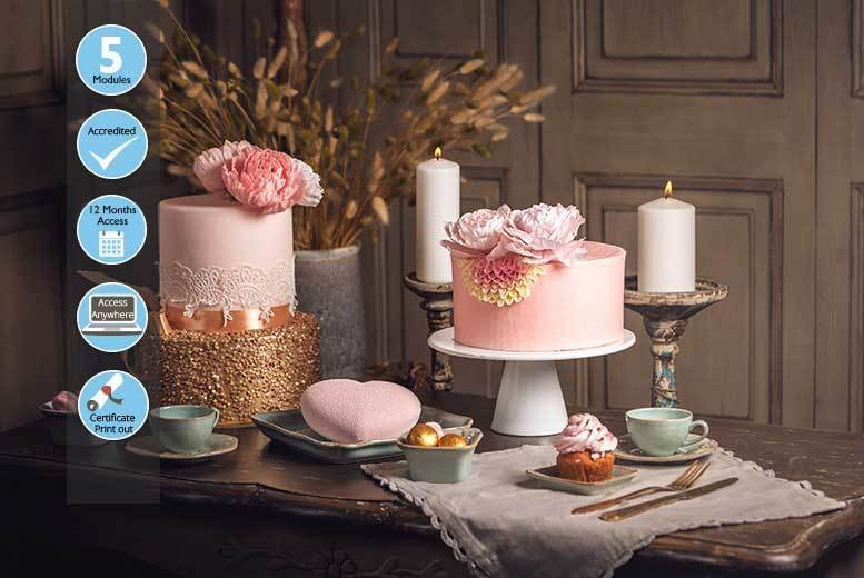 Sophisticated Baking & Cake Design Course for £9