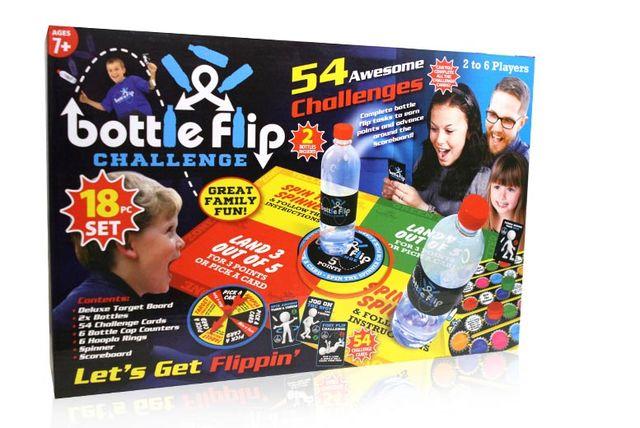 bottle flip challenge set