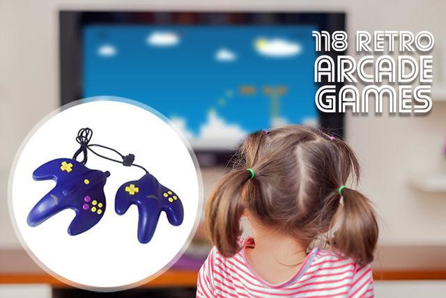 gamezone 118 retro classic arcade games