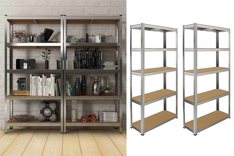 2 Galwix Steel Shelves for £36