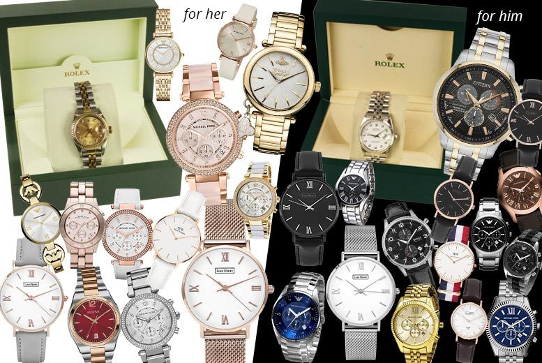 Mystery Watch Deal - Rolex, Citizen, V.Westwood, MK, L.Henry & More!
