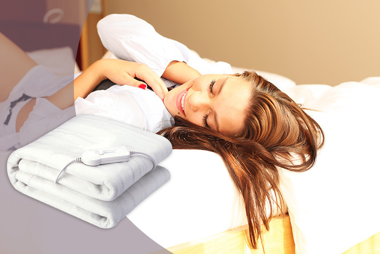 Super Soft Deluxe Electric Blanket – 4 Sizes! from £9.99
